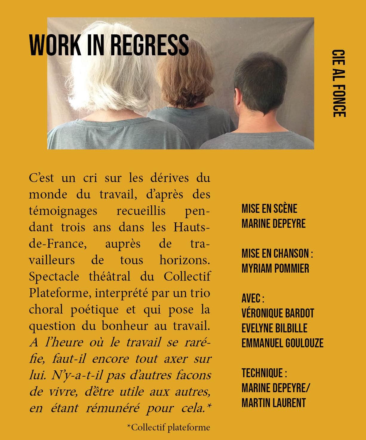Work in regress1